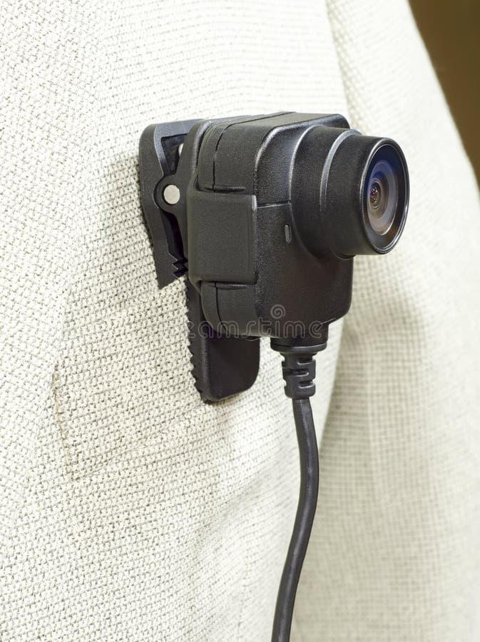 Костюм камеры тела белый стоковое фото