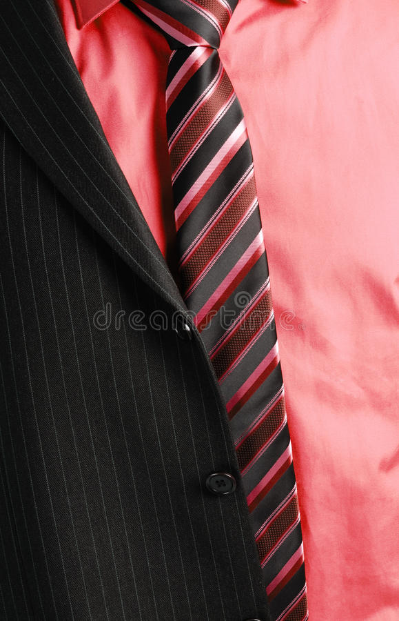 костюм человека дела половинный стоковая фотография rf