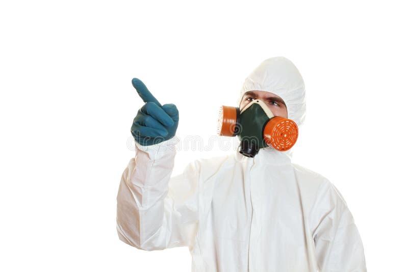 костюм человека защитный стоковые фото