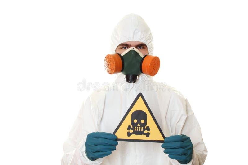 костюм человека защитный стоковое изображение rf