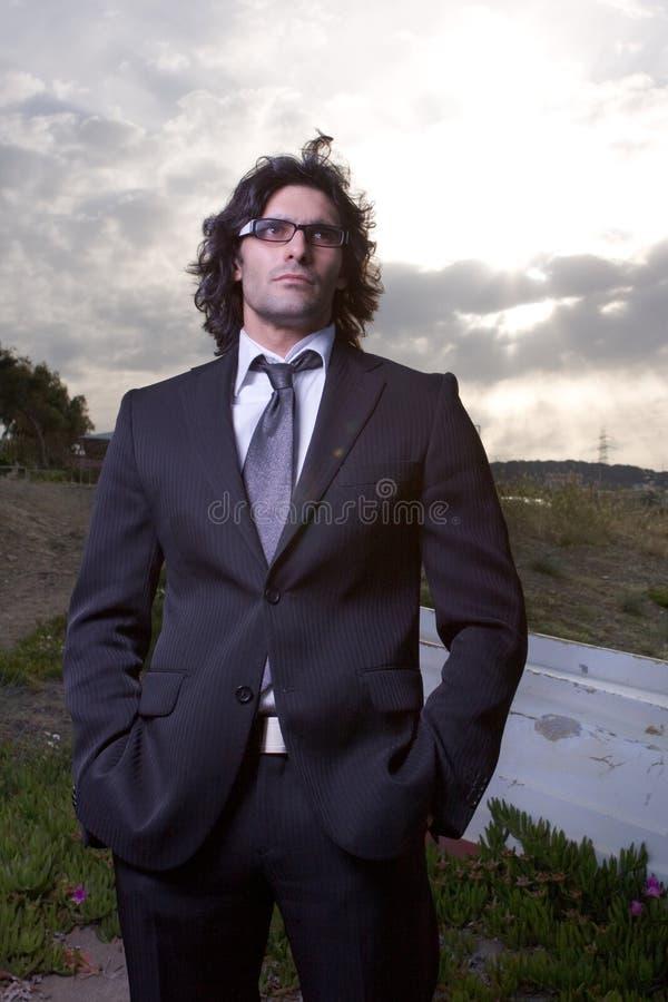костюм человека стоковая фотография