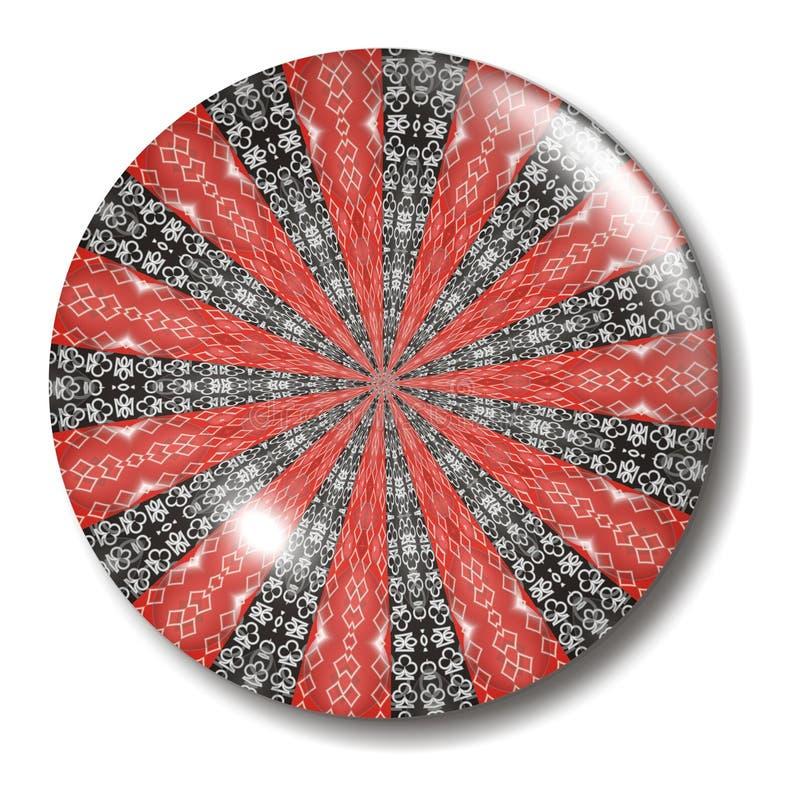 костюм шара карточки кнопки иллюстрация вектора