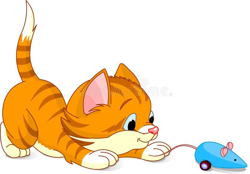 котенок шаловливый