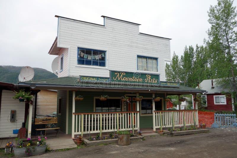 , который ложн-противостоят магазин искусства в Аляске стоковые изображения rf