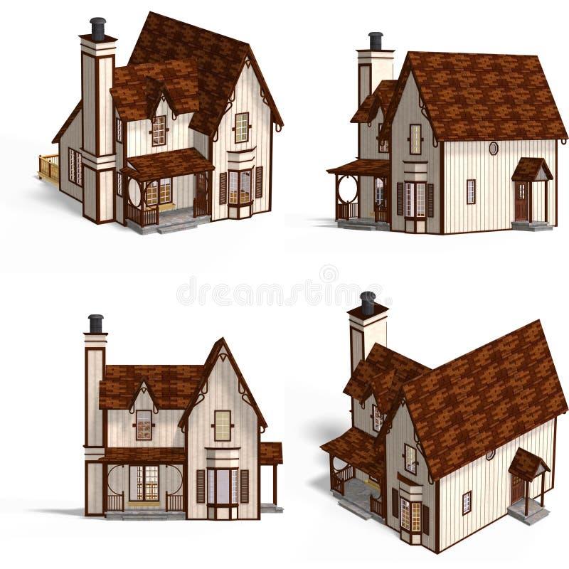 Download коттедж расквартировывает средневековое Иллюстрация штока - иллюстрации насчитывающей произведено, афоризмов: 6864897