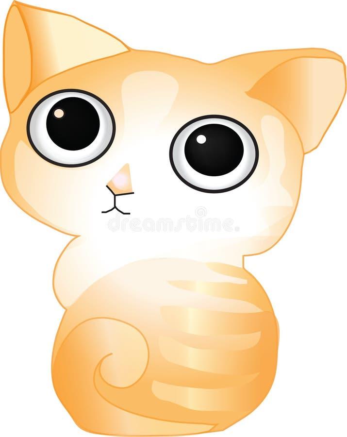 Кот имбиря стоковое фото rf