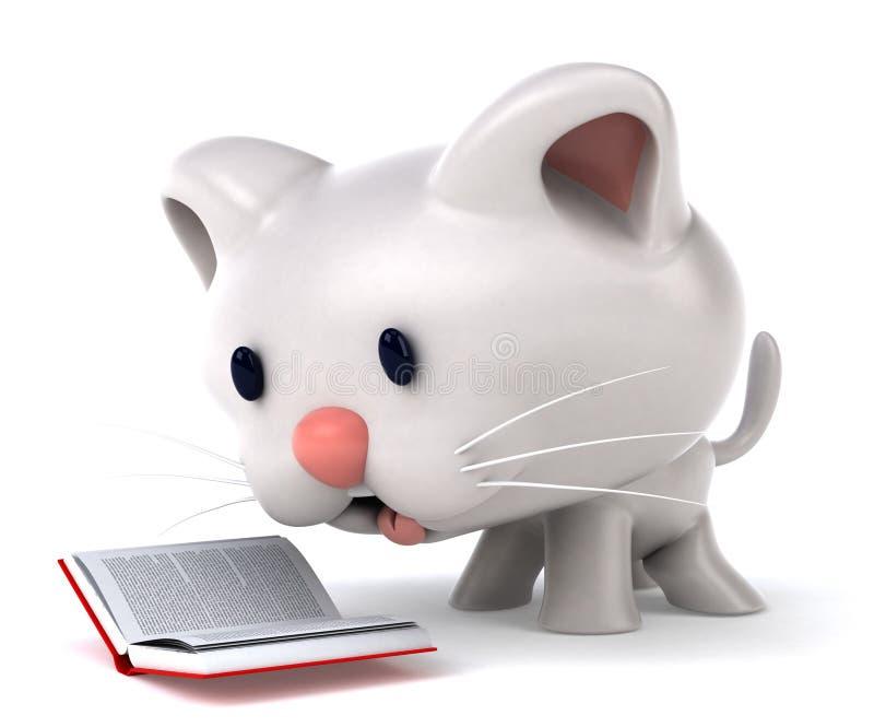 Кот потехи иллюстрация вектора