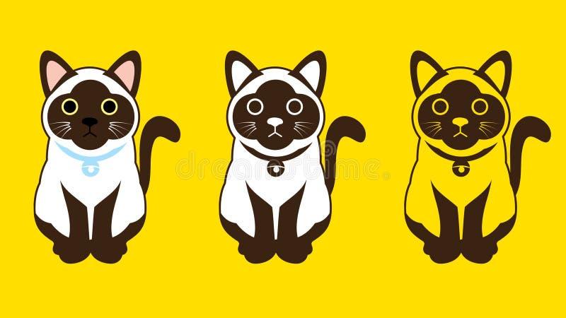 кот сиамский бесплатная иллюстрация