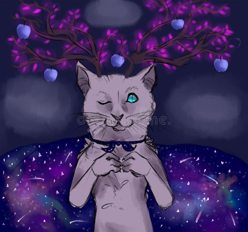 Кот сказки стоковое фото