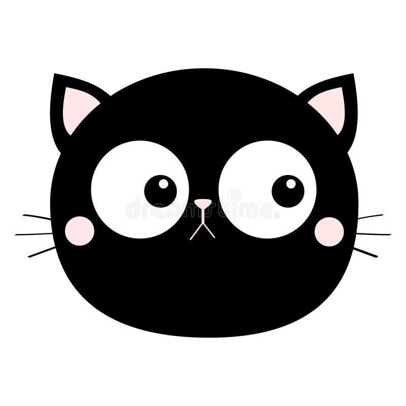 Кот, собака, рыба, хомяк, попугай, черепаха Линия набор любимца Характер младенца милого kawaii мультфильма смешной o o r иллюстрация вектора