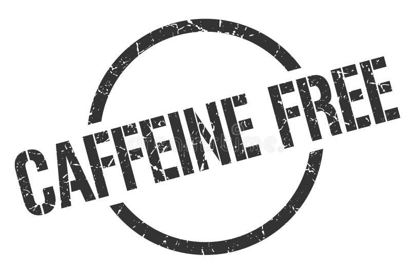 Кофеин освобождает штемпель иллюстрация вектора