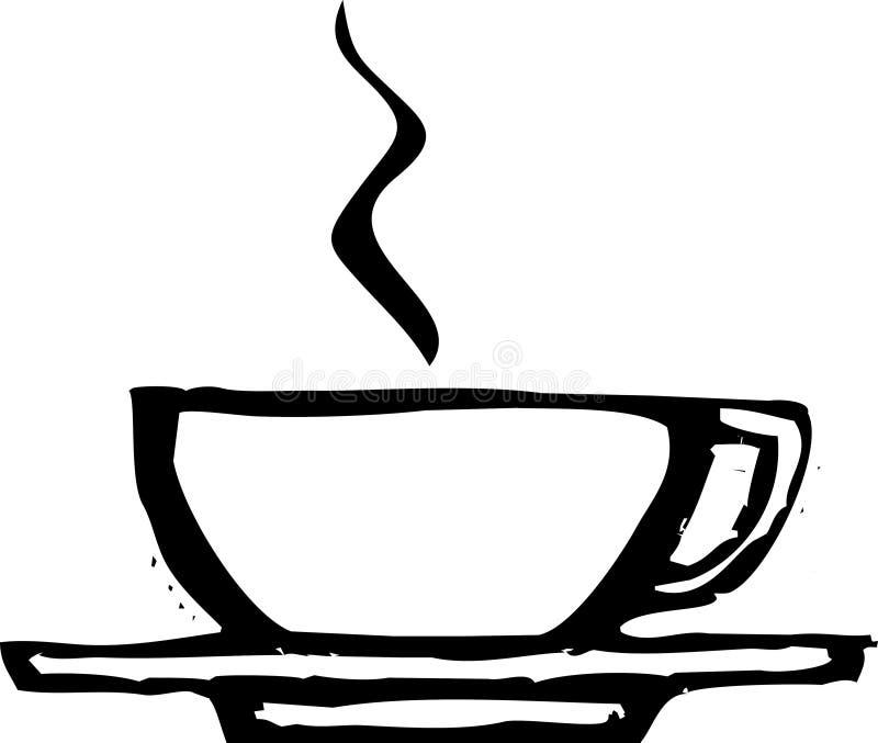 кофейная чашка грубая бесплатная иллюстрация