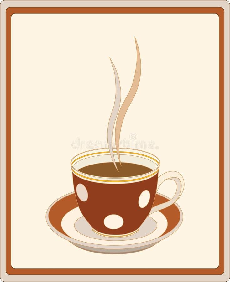 кофейная чашка ретро бесплатная иллюстрация