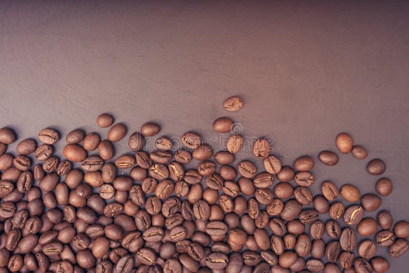 Кофейные зерна крупного плана стоковые изображения rf