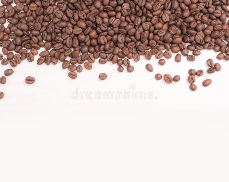 Кофейные зерна крупного плана стоковое изображение rf