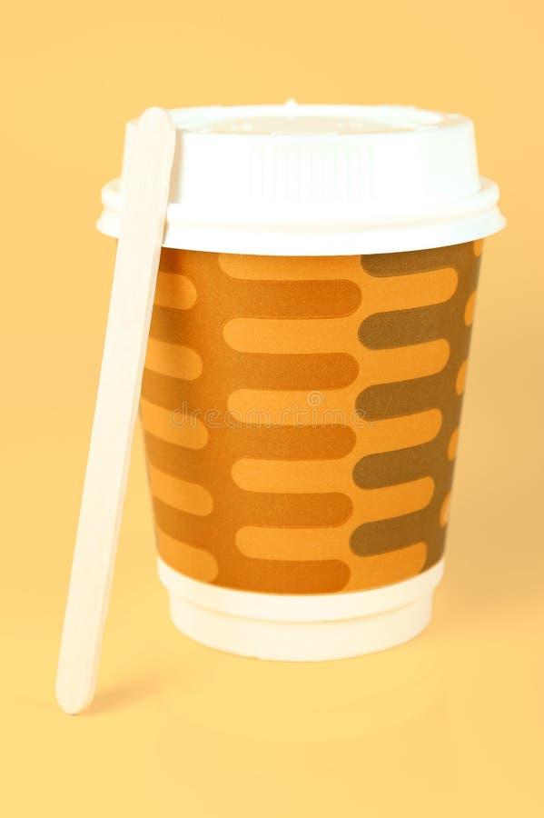 кофейные чашки takeaway стоковая фотография