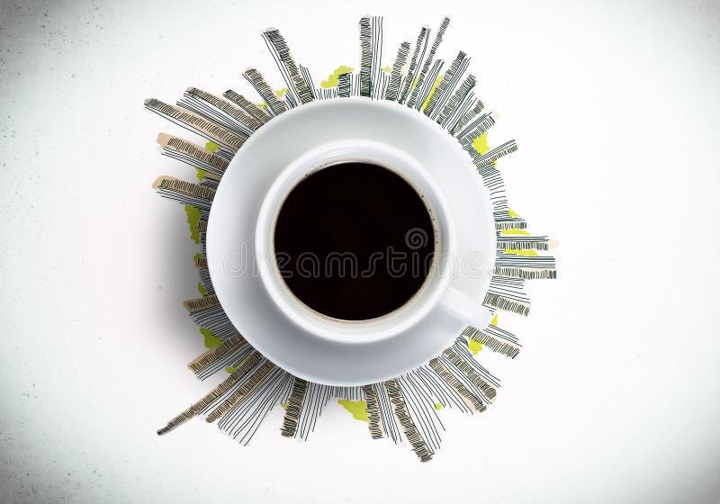 Download кофе больше времени стоковое изображение. изображение насчитывающей картина - 41650649
