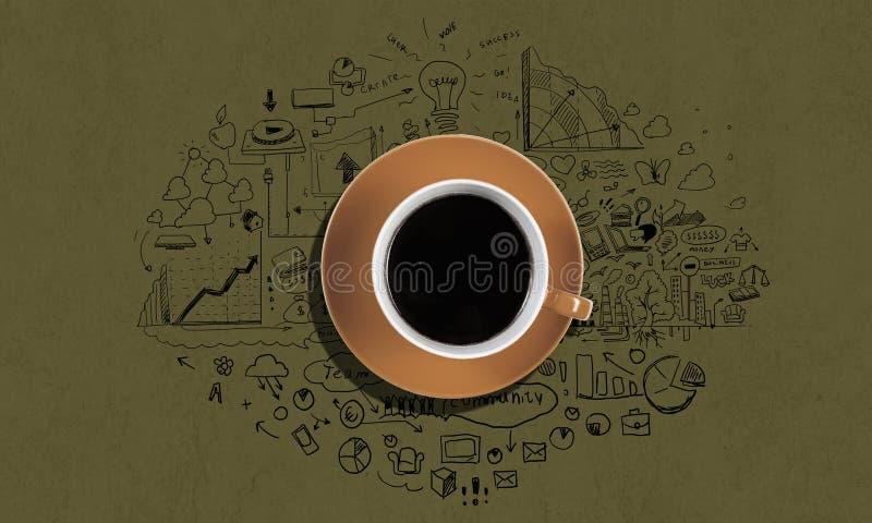 кофе больше времени стоковые фотографии rf