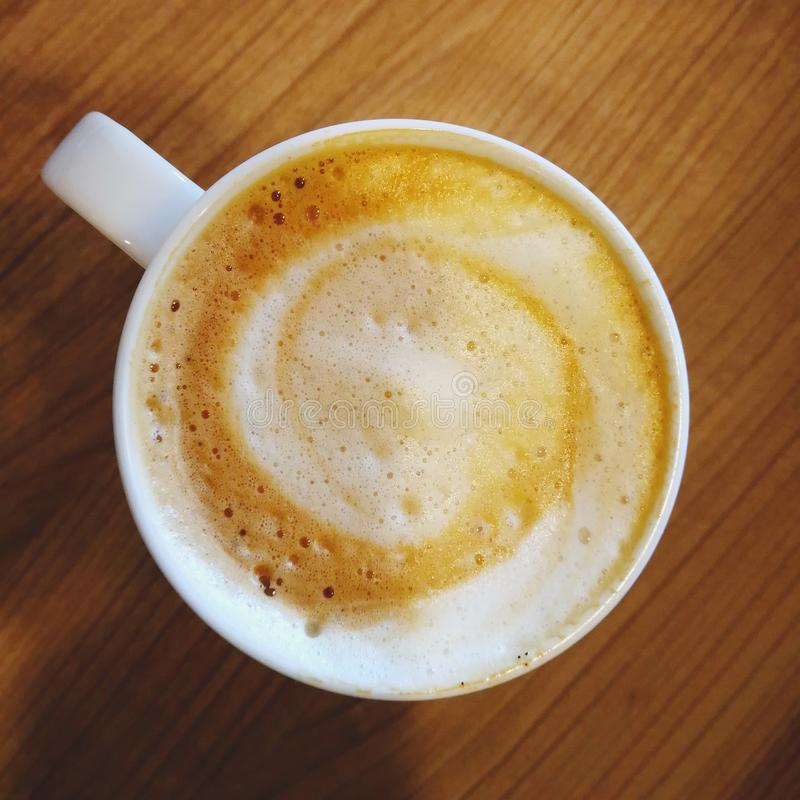 Кофе в чашке стоковые фото