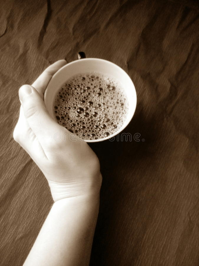 кофе горячий стоковые фотографии rf