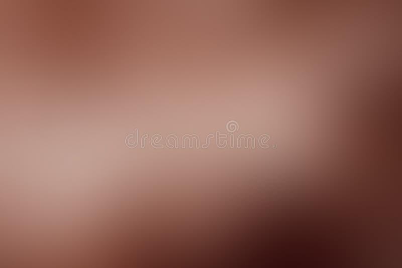 Кофе градиента абстрактный, коричневый цвет, шоколад, какао, предпосылка с космосом экземпляра иллюстрация штока