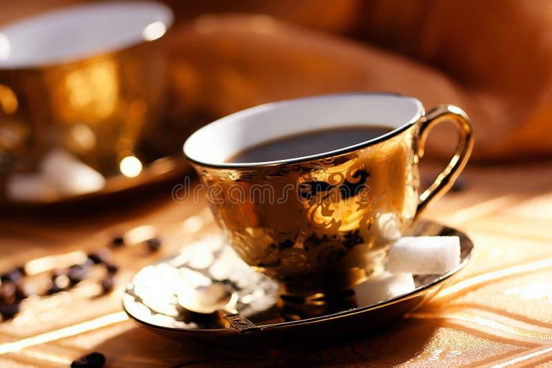 кофе золотистый стоковое фото rf