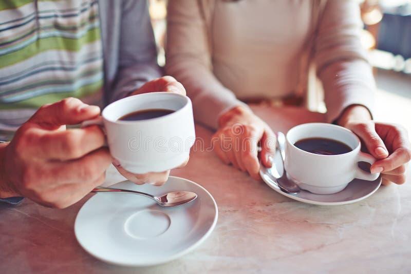 кофе имея стоковое изображение