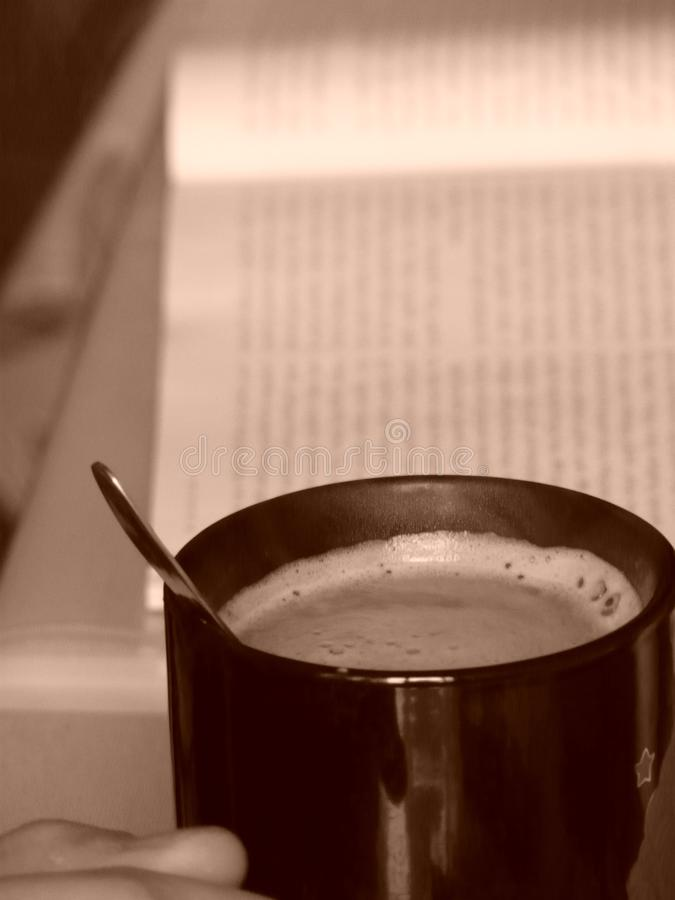 Кофе и дом стоковое изображение
