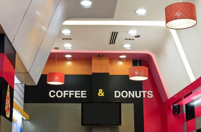 Кофе и donuts стоковое фото rf