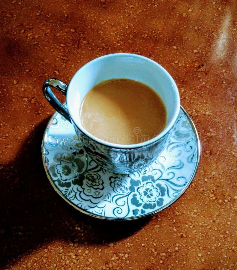 Кофе нет ответа к всему таким образом чай стоковая фотография rf