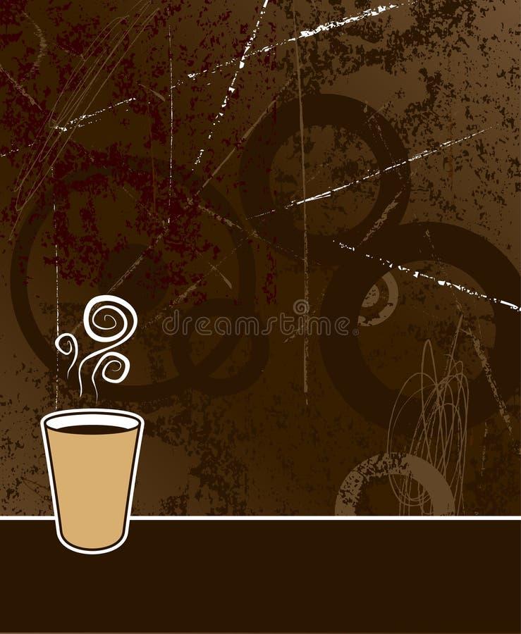 кофе предпосылки иллюстрация вектора
