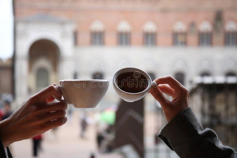 кофе совместно стоковая фотография