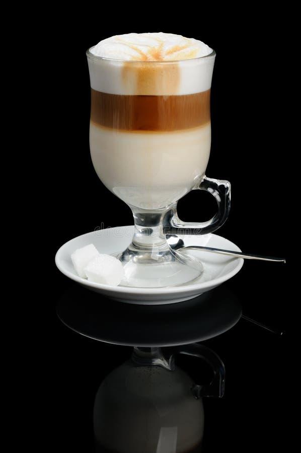 Кофе с молоком стоковые изображения