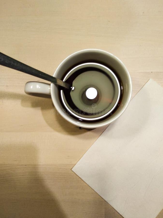 Кофе утра на моем любимом месте стоковые изображения