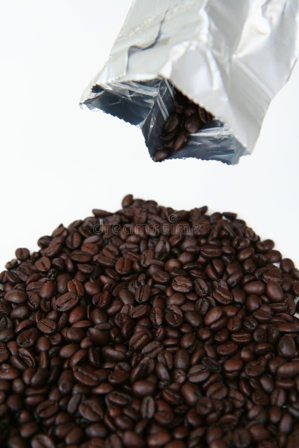 кофе фасолей мешка стоковые изображения