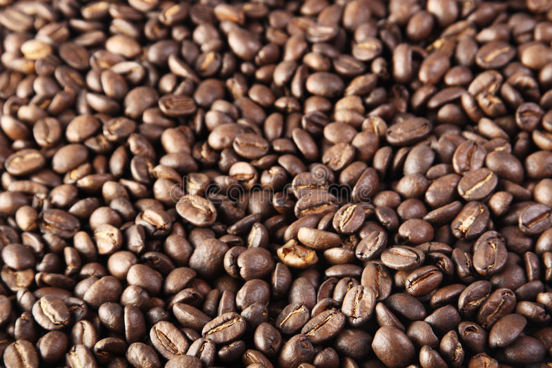 кофе фасолей предпосылки стоковая фотография