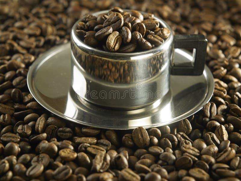 кофе фасоли близкий снятый вверх стоковое фото rf