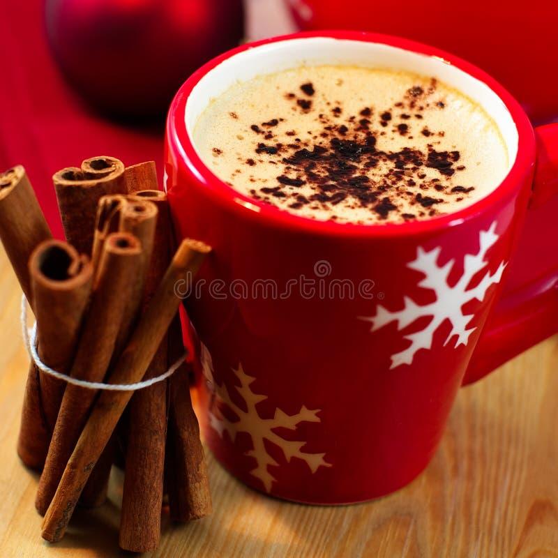 кофе циннамона рождества стоковые фото