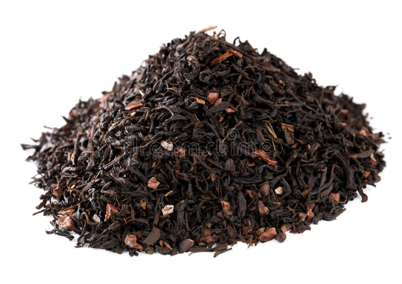кофе шоколада настоял как чай ответной части стоковые фото