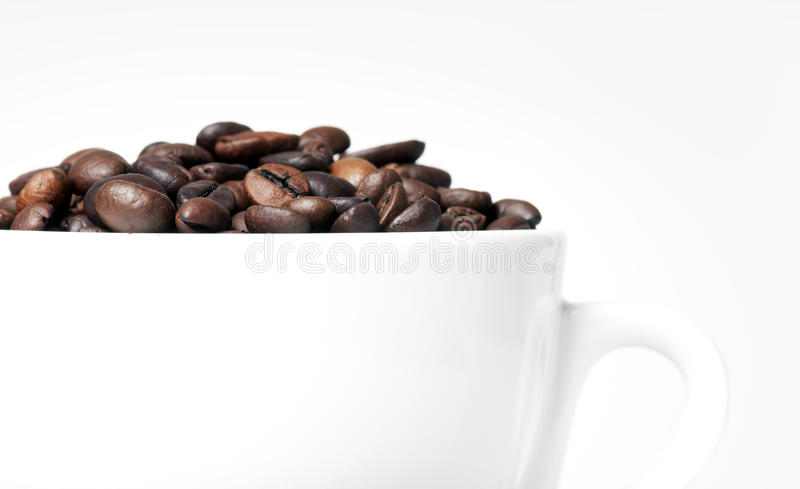 Download кофе стоковое фото. изображение насчитывающей конец, чашка - 18377788