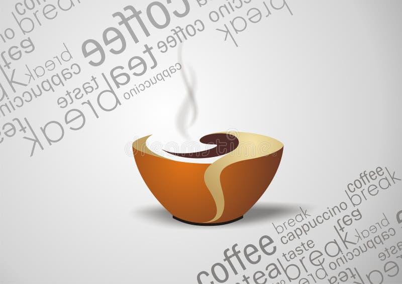 кофе иллюстрация штока