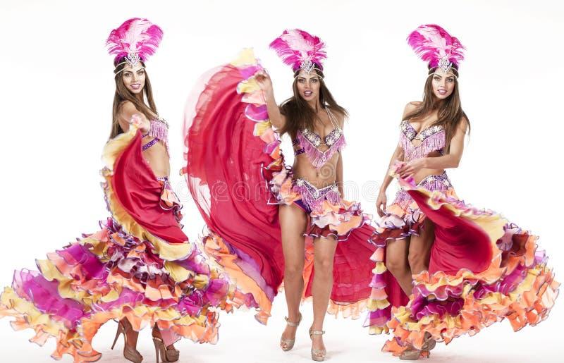 Коллаж, танцор масленицы, изумительный костюм стоковые изображения