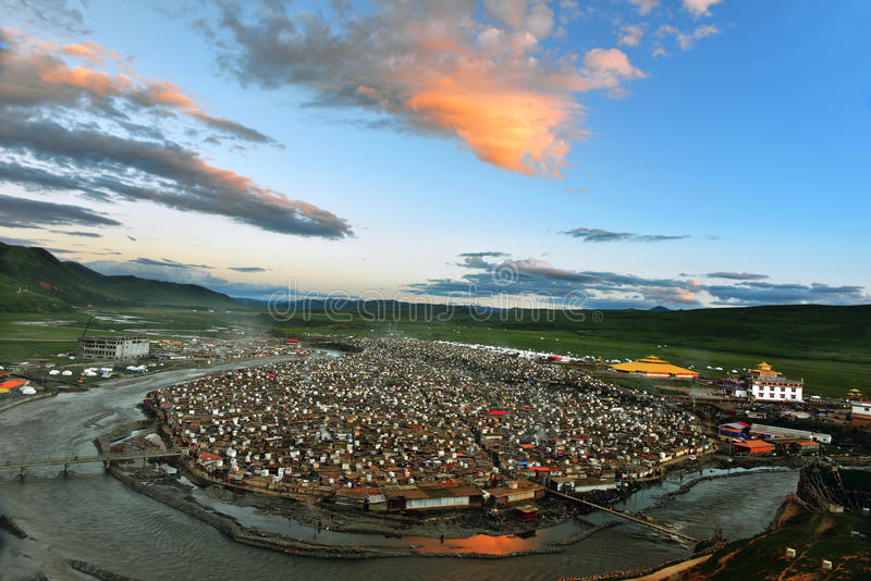Коллеж буддизма Yaqing стоковая фотография rf