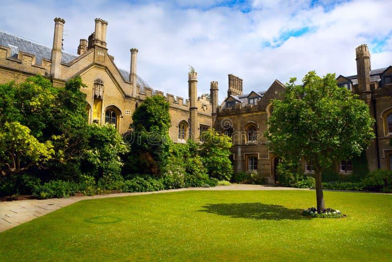 Коллеж Кембриджского университета искусства стоковое изображение