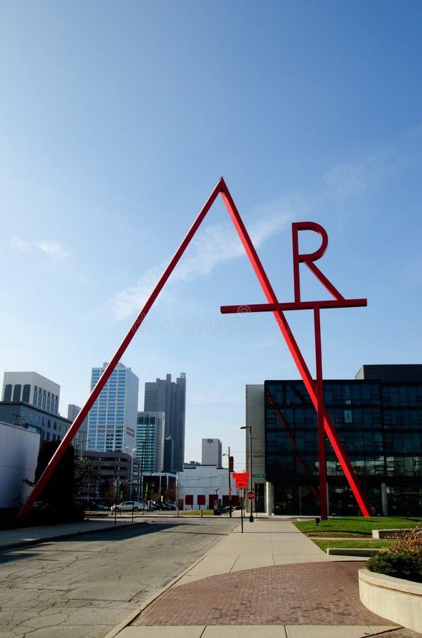 Коллеж Колумбуса искусства и дизайна - Колумбуса, Огайо стоковая фотография rf