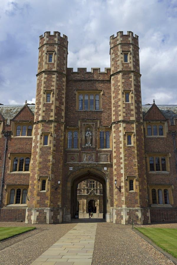 Коллеж St Johns в Кембридже стоковое изображение