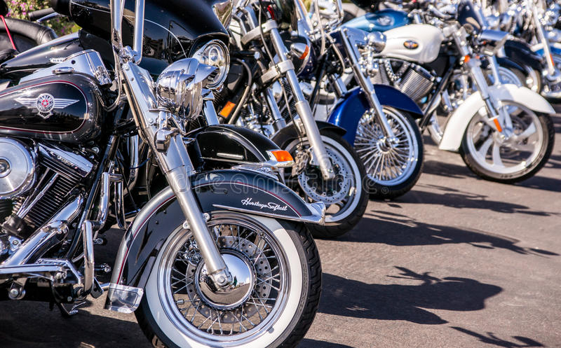 Колеса мотоцикла стоковые фото