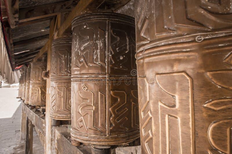 Колеса молитве Kora стоковые изображения