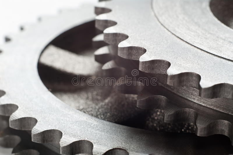 Колеса шестерни стоковое изображение