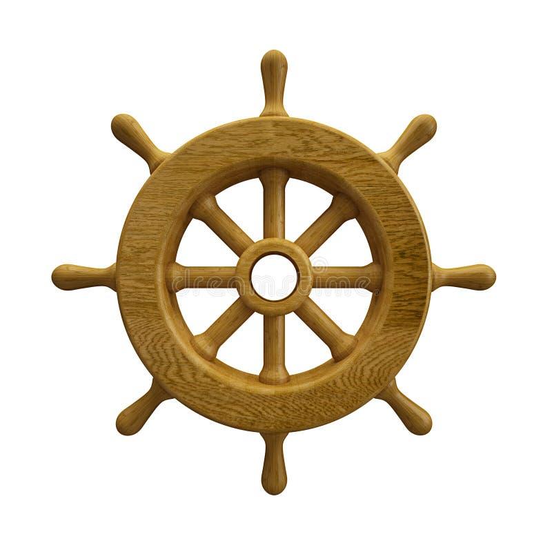 Колесо корабля стоковые фото